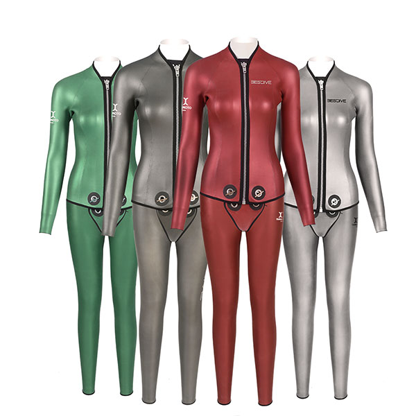 Smooth-Skin Zip Suit(3mm)F