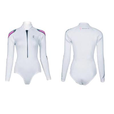 Pearl-white Bodysuit(2mm)F